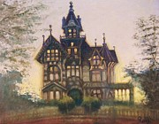 Eureka Paintings - Mansion in Eureka by Raffi  Jacobian