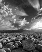 Pm Framed Prints - Manzanar Boulders 1 Framed Print by Don Hall