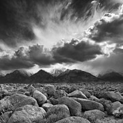 Pm Framed Prints - Manzanar Boulders 2 Framed Print by Don Hall
