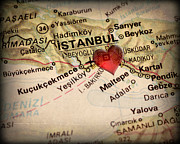 ELITE IMAGE photography By Chad McDermott - Map of Istanbul Turkey