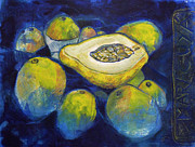 Passion Fruit Prints - Maracuya/Passion Fruit Print by Andrea Montano