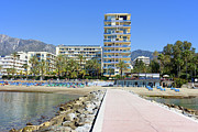 Property Prints - Marbella Resort in Spain Print by Artur Bogacki
