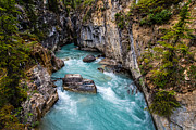 Glacial Framed Prints - Marble Canyon Framed Print by Ian Stotesbury