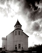 Franklin Tennessee Prints - Marble Plains Church Franklin County Tennessee Print by   Joe Beasley