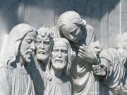 Jesus Christ Last Supper Photos - Marble Work by Greg Patzer