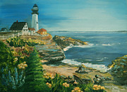 Carol L Miller - Marblehead in Full Bloom