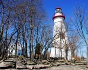 Ohio State Prints - Marblehead Light Print by Mel Steinhauer