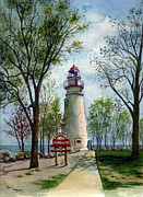 Terri  Meyer - Marblehead Lighthouse
