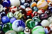 Marbles All That Color Print by Paul Ward