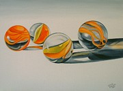 Sharon Challand - Marbles in the Sun