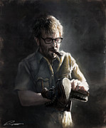 Shoe Digital Art - Marc Maron by Pavel Sokov