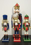 Nutcrackers Prints - March of the Nutcrackers Print by Choi Ling Blakey