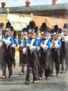 Marching Band Print by Susan Savad