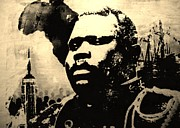 Marcus Paintings - Marcus Garvey by Robert Cunningham