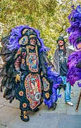 Headdress Photos - Mardi Gras Indian by Steve Harrington