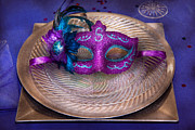 Plates Posters - Mardi Gras Theme - Surprise guest Poster by Mike Savad
