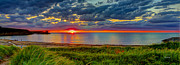 Fred J Lord - Margaree Harbour Sunset...