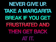 Positivism Posters - Margarita Break Poster by Jera Sky