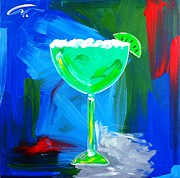 Challenging Painting Prints - Margarita Print by Mac Worthington