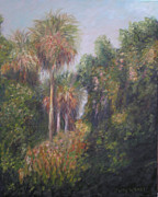 Rawlings Paintings - Margorie Kinnan Rawlings State Park by Patty Weeks