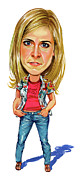Caricature Paintings - Maria Bamford by Art