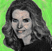 First Lady Digital Art Posters - Maria Shriver Poster by Gerhardt Isringhaus