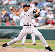 Ny Yankees Posters - Mariano Rivera Poster by Sanely Great
