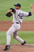 Baseball Photo Metal Prints - Mariano Rivera Poster Metal Print by Sanely Great