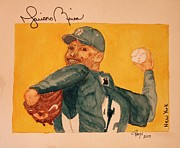 Sports Art Paintings - Mariano Rivera  by Rand Swift