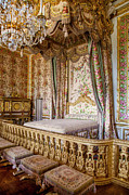 Riches Metal Prints - Marie Antoinette Bedroom Metal Print by Brian Jannsen