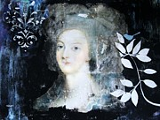 Painter Mixed Media - Marie Antoinette by Venus