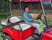 Philip Gianni - Marie in golf cart on...