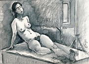 Ion vincent DAnu - Marie Lise As Odalisque