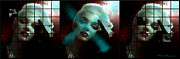 Masterpiece Digital Art Prints - Marilyn 128 Tryp  Print by Theo Danella