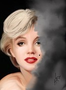 Conspiracy Digital Art - Marilyn A Lost Life by Barbara Hart