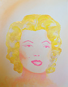 Marilyn Monroe Framed Prints - Marilyn Framed Print by Alys Caviness-Gober