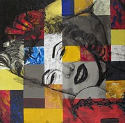 Malinda  Prudhomme - Marilyn In Abstract