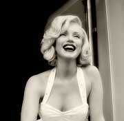 Norma Jean Prints - Marilyn Monroe 2 Print by Cindy Nunn