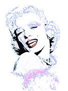 Actors Digital Art Framed Prints - Marilyn Monroe 20130331 Framed Print by Wingsdomain Art and Photography