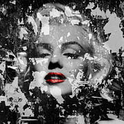 Marilyn Photo Metal Prints - Marilyn Monroe 5 Metal Print by Andrew Fare