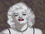 Kate Farrant - Marilyn Monroe Digital Painting