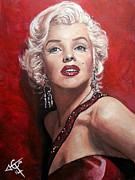 Tom Carlton - Marilyn Monroe - Red