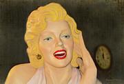 Marilyn Monroe Print by Sandi OReilly