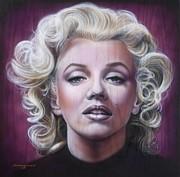 Marilyn Monroe Print by Tim  Scoggins