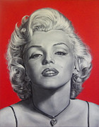 Sex Symbol Prints - Marilyn Print by Stu Braks