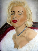 Best Selling Posters - Marilyn Poster by Surina Nel
