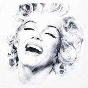 Marilyn Three Print by Jean Pierre Rousselet