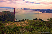 Sausalito Metal Prints - Marin Headlands Metal Print by Randy Wehner Photography