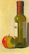 Dessert Wine Paintings - Marin Poster Study by Elizabeth B Tucker