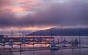 North Idaho Prints - Marina Aglow Print by Idaho Scenic Images Linda Lantzy